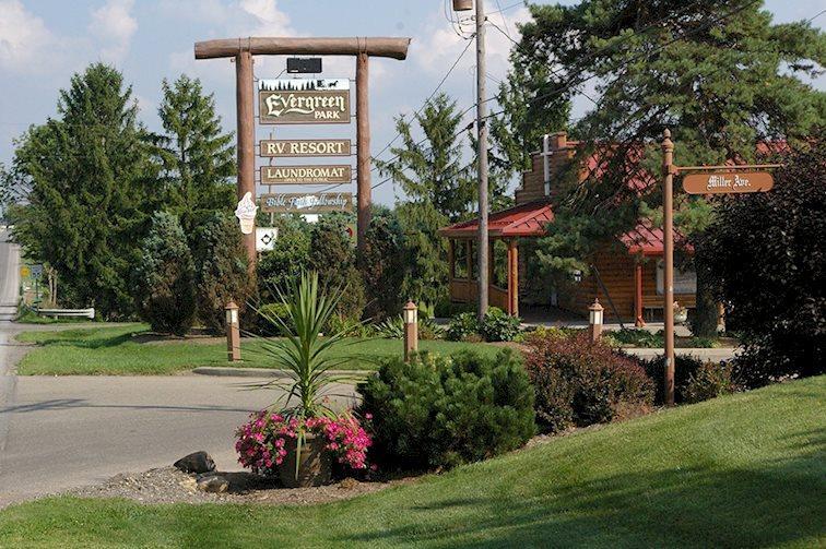 Evergreen Park RV Resort | Visit Amish Country