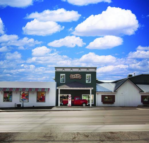 Lehman's iconic store is located in the tiny village of Kidron, OH.